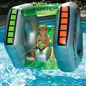 Buy Swimline Starfighter Super Squirter Inflatable Pool Toy by Swimline