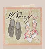 Mr & Mrs Shoes Wedding Day Card