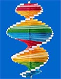 New Rainbow Wind Spinner Helix Garden Patio Decoration