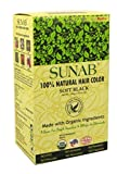 SUNAB-CERTIFIED ORGANIC 100 % NATURAL SOFT BLACK HAIR COLOUR