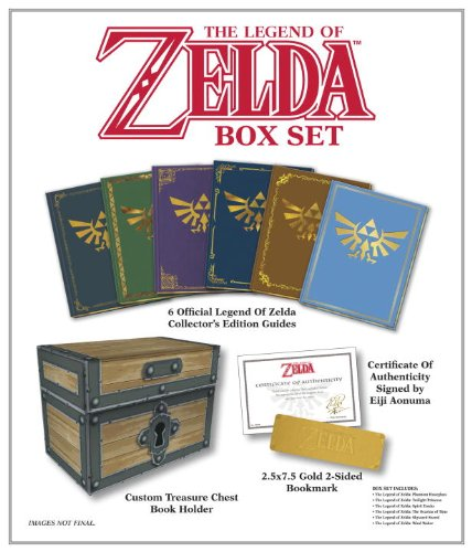 Coffret tous les guides Zelda ! 5176rt4NYoL