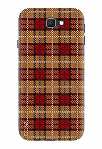 Noise Designer Printed Case / Cover for Samsung Galaxy On8 / Patterns & Ethnic / Check Design