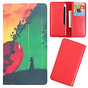DooDa - For Alcatel Idol 2 Mini PU Leather Designer Fashionable Fancy Case Cover Pouch With Card & Cash Slots & Smooth Inner Velvet