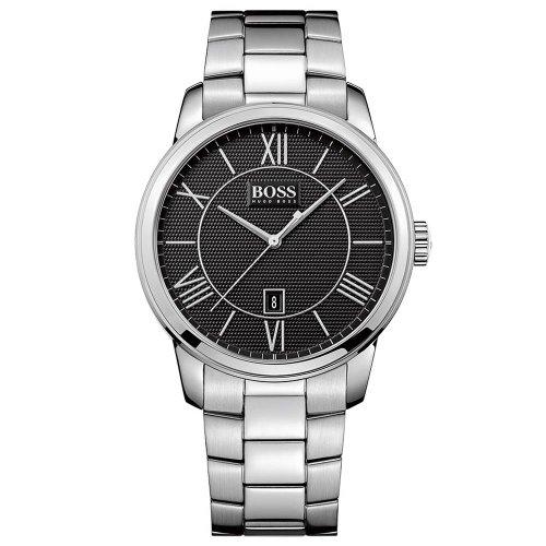 Hugo Boss de los hombres de la plata de acero inoxidable reloj 1512977
