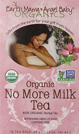 Earth Mama Angel Baby Organic No More Milk Tea, 16 Teabags/Box (Pack Of 3)