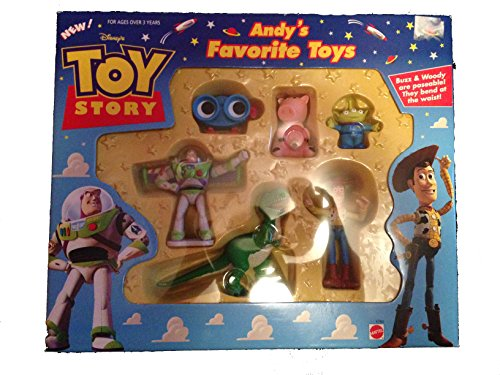 Toy Story Andy'S Favorite Toys Figure Set