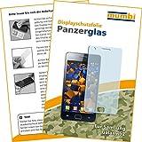 mumbi Panzerglasfolie Samsung Galaxy S2 Glasfolie Hartglas 9H