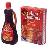 Aunt Jemima パンケーキミックス+シロップ [並行輸入品]