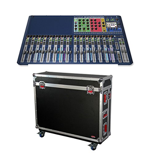 Soundcraft si expression 3 digital mixing console gator for Consul use cases