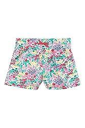 Chalk by Pantaloons Girl's Cotton Shorts (205000005657527, Green, 2-3 Years)