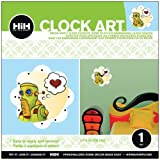 Hip In a Hurry 3D Decor Clock Kits 11 Inch -Bright Bot