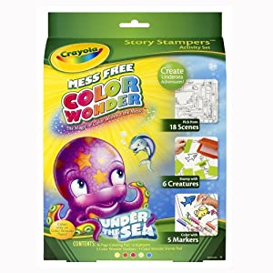 Amazon Com Crayola Color Wonder Stamp A Story Toys Amp Games