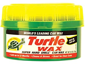 Turtle Wax T223R T-223 Super Hard Shell Paste Wax - 9.5 oz.