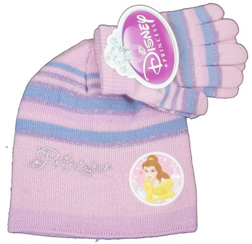 Princess Girls Hat & Gloves Set