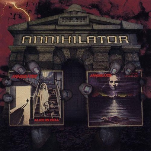 Alice In Hell/Never, Neverland (2 For 1) by Annihilator (2003) Audio CD