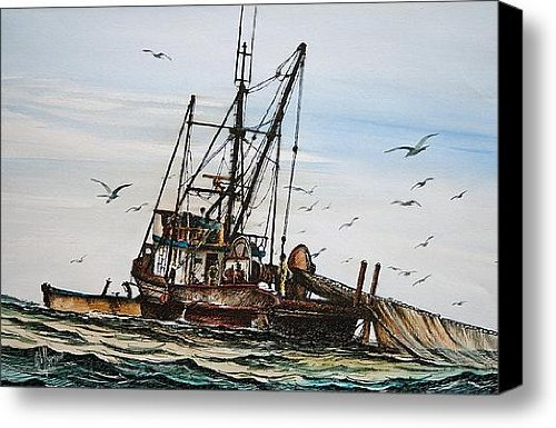 Purse Seiner Canvas Print / Canvas Art - Artist James Williamson