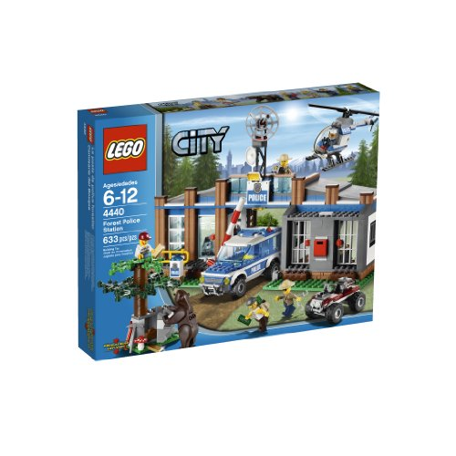 LEGO City Police Forest Station 4440 Amazon.com