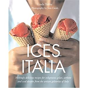 italian ice cream recipe books