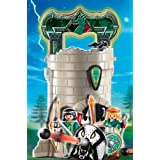 Playmobil - 4775 - Figurine - Tour des Chevaliers des Dragons Vertspar Playmobil