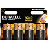 Duracell Pile Alcaline Plus Power D x4