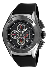 Cvstos Men's CVCRRNSTGR Challenge-R Chrono Steel Watch