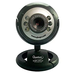 Quantum 25MP Webcam with 6 light & MIC
