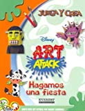 Hagamos Una Fiesta/ Let'S Throw A Party (Juega y Crea Disney Art Attack) (Spanish Edition)