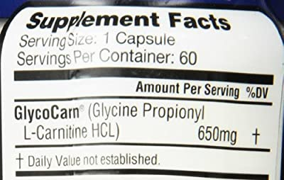 Labrada Nutrition Glyco-Carn GPLC Pharmaceutical Grade Mineral Supplement, 60 Count