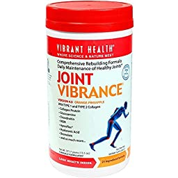 Vibrant Health - Joint Vibrance - Comprehensive Rebuilding Formula Daily Maintenance of Healthy Joints, 13.1 ounce