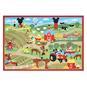 Disney Mickey Mouse Clubhouse Interactive Game Rug