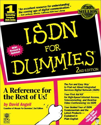 Isdn For Dummies (For Dummies (Computers))