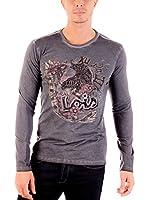 Lois Camiseta Manga Larga Bealois House (Gris)
