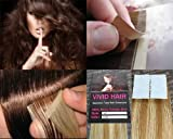 "20 Pcs X 18"" inches Remy Seamless Tape Skin weft Human Hair Extensions Color 7G/9G Lightest Brown Mix Blonde"