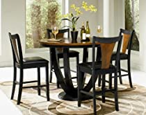 Hot Sale Boyer 5-Pc Counter Height Table Set by Coaster