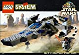 LEGO Star Wars Episode 1 Darth Maul Sith Infiltrator Spaceship Set 7151 (1999)