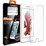 iPhone 6s Plus Screen Protector, Spigen® iPhone 6 Plus / 6s Plus [3D Touch Compatible- Tempered Glass] Most Durable [Easy-Install Wings] Glass Screen Protector [Life Warranty] - SGP11634