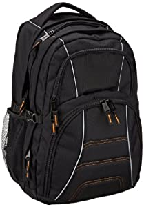AmazonBasics AB 103 Laptop Backpack for up to 17 inch laptops - Black