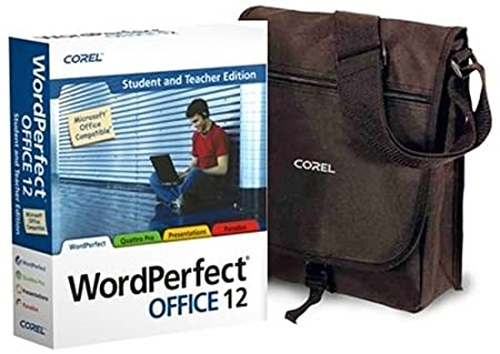 Corel WordPerfect Office 12 - Student and Teacher with Corel Bag