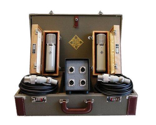 Telefunken Ela M 251 Stereo Set | Diamond Series Tube Condensor Vintage Microphone Stereo Set (Ela M 251 Stereo Set)