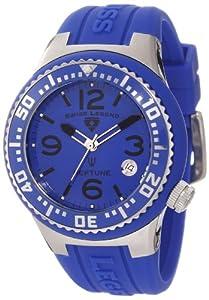 Swiss Legend Mujer 11044P-03-BLB Neptune Royal Blue Dial Royal Blue Silicone Reloj