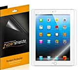 [3-Pack] SUPERSHIELDZ- High Definition Clear Screen Protector For Apple iPad 4, 3 & 2 Generation + Lifetime Replacements Warranty [3-PACK] - Retail Packaging