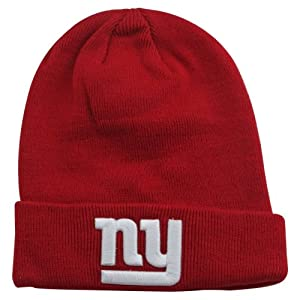 NFL New York Giants Domed Knit Hat - Red