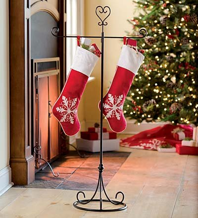 Metal Christmas Stocking Hanger