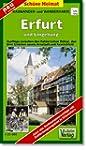 Radwander- und Wanderkarte Erfurt und...