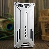 Super Mary Arachnophobia Durable Aluminum Metal Case for Iphone 5 (Silver)