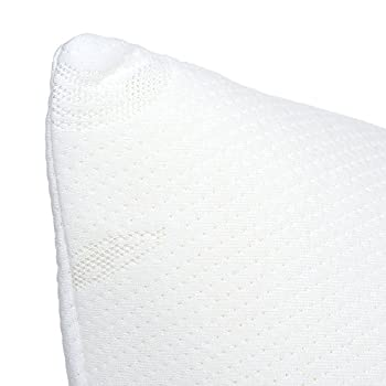 Memory Foam Body Pillow, Bed Pillows for Comfort and Support by Lavish Home (Removable Pillow Cover, Hypoallergenic Pillow Protector, 50 inches x 14 inches)
