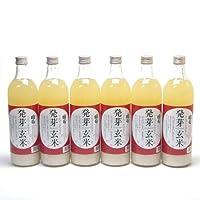 6本セット 篠崎 国菊 発芽玄米甘酒(はつがげんまいあまざけ)ノンアルコール 720ml