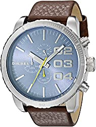 Diesel End of Season Chronograph Blue Dial Mens Watch - DZ4330