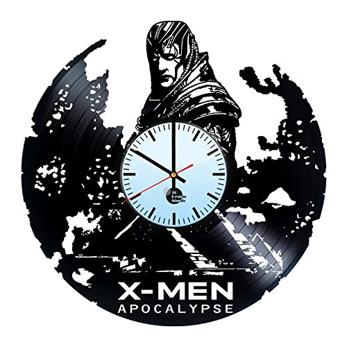 X-Men-Apocalypse-HANDMADE-Vinyl-Record-Wall-Clock-Get-unique-living-room-wall-decor-Gift-ideas-for-teens-boys-and-girls-Marvel-Comics-Unique-Art-Leave-us-a-feedback-and-win-your-custom-clock