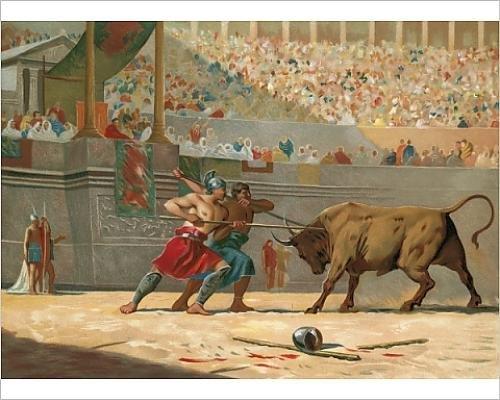 photographic-print-of-julius-caesar-watching-a-circus-entertainment